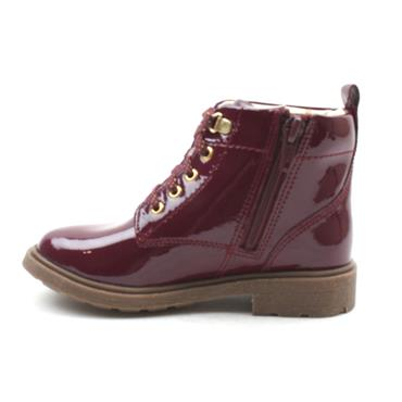 CLARKS ASTROL LACE K LACED BOOT - BERRY F
