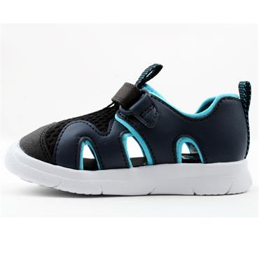 CLARKS ATH SURF T CLOSED SANDAL - NAVY G