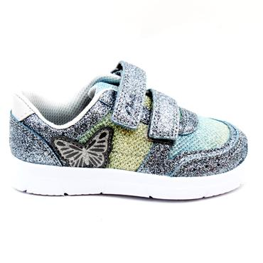 CLARKS ATH WING T JUNIOR RUNNER - PEWTER F