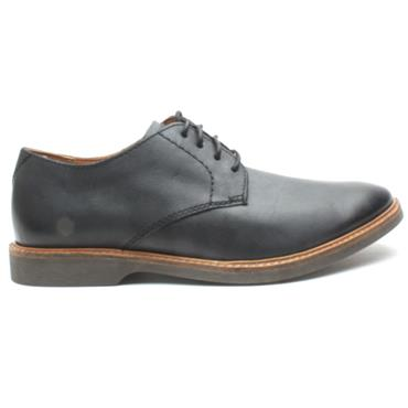 CLARKS ATTICUS LACE SHOE - BLACK G