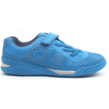 CLARKS VELCRO AWARDBLAZE  RUNNER - BLUE F