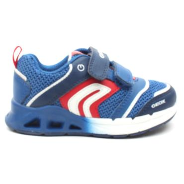 GEOX CASUAL B022PA - NAVY/RED