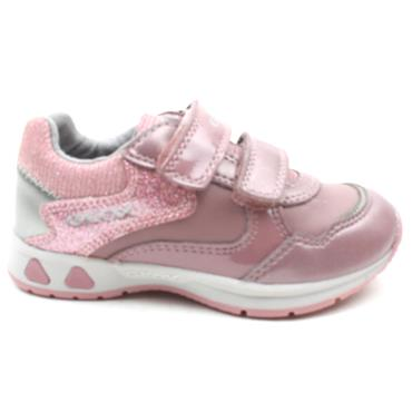 GEOX B041SA JUNIOR PAVLIS RUNNER - PINK