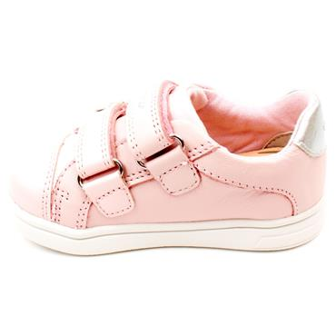 GEOX B151WC VELCRO JUNIOR SHOE - ROSE
