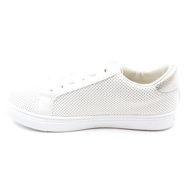MILLIE & CO  B378870 LACED SHOE - WHITE