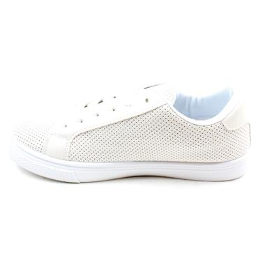 MILLIE AND CO  B383370 LACED SHOE - WHITE PINK