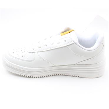 SPROX LACED TRAINER - WHITE