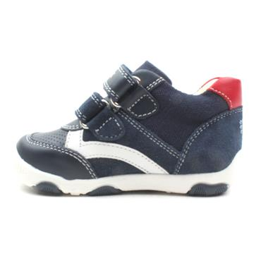 GEOX B920PC JUNIOR RUNNER - NAVY