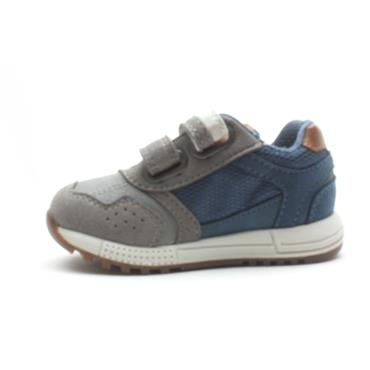 GEOX B943CA VELCRO RUNNER - BLUE GREY