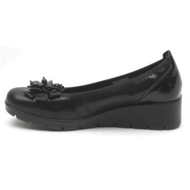 INEA BALMIN WEDGE SHOE - Black