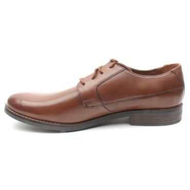 CLARKS BECKEN PLAIN MENS SHOE - TAN H