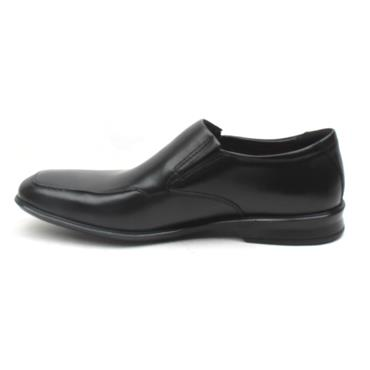 CLARKS BENSLEY STEP SLIP ON SHOE - BLACK G
