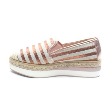 ESCAPE BEREATWO  WEDGE SHOE - ROSE
