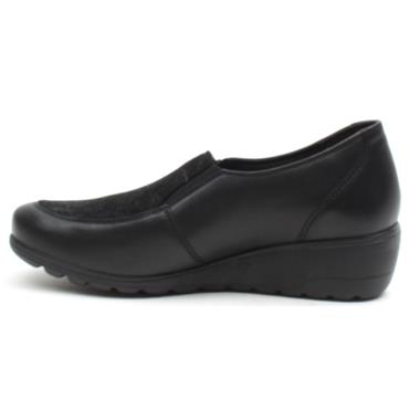 MEPHISTO BERTRANE SLIP ON SHOE - Black