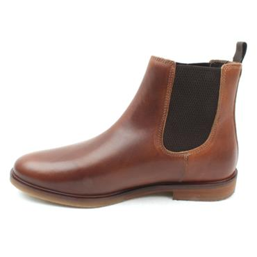 LLOYD AND PRYCE BOOTH BOOT - DARK TAN