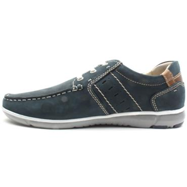 DUBARRY LACED SHOE BOWIE - NAVY