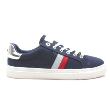 LLOYD AND PRYCE BREEN LACED SHOE - NAVY