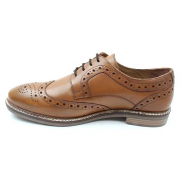 HUSH PUPPIES BRYSON BROGUE SHOE - TAN