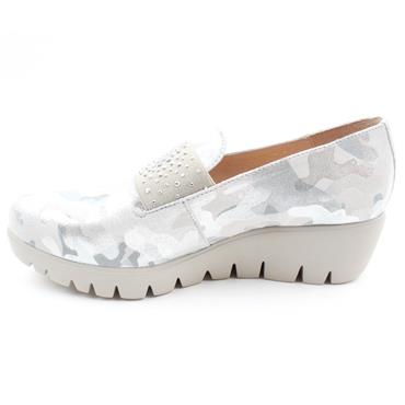 WONDERS SLIP ON C33158 - SILVER
