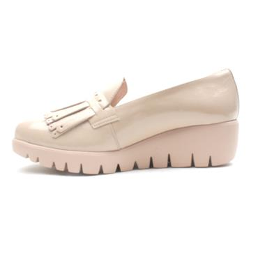 WONDERS C33207 WEDGE SHOE - NUDE PATENT