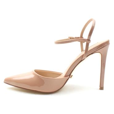 GLAMOUR CAMIE STRAPPY SHOE - NUDE PATENT