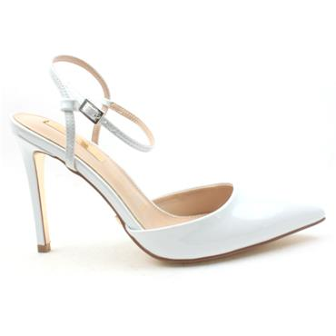 GLAMOUR CAMIE STRAPPY SHOE - WHITE
