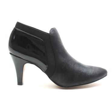 LOTUS CANDICE ANKLE BOOT - Black