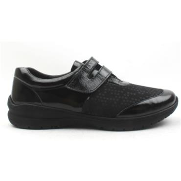 SOFTMODE CARA VELCRO EE FIT - Black