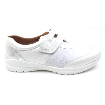 SOFTMODE CARA VELCRO EE FIT - WHITE