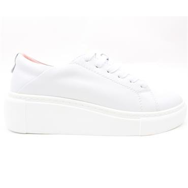KATE APPLEBY CHALFORT LACED SHOE - WHITE