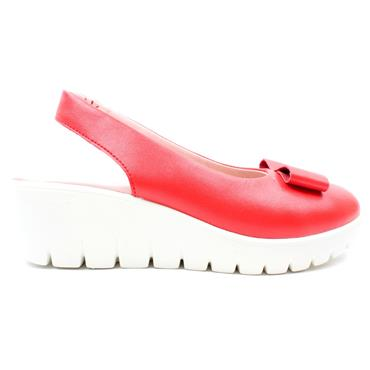 KATE APPLEBY CHILTERN WEDGE SHOE - CHERRY