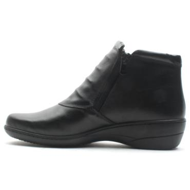 SOFTMODE ZIP CHLOE EE FIT BOOT - Black