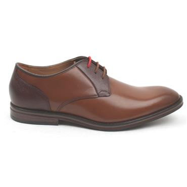 CLARKS CITISTRIDELACE DRESS SHOE - TAN G