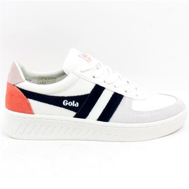 GOLA CLA415 GRANDSLAM SHOE - WHITE PINK