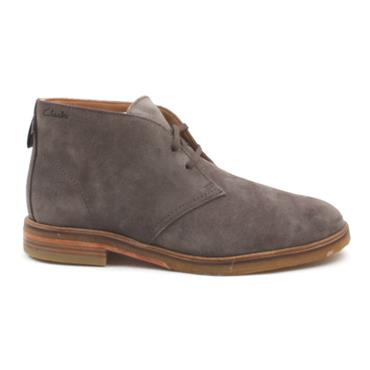 CLARKS CLARKDALE DBT LACED BOOT - TAUPE