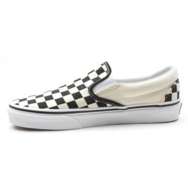 VANS CLASSIC UNISEX SLIP ON - BLACK/WHITE