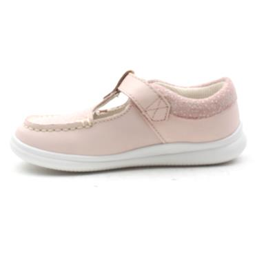 CLARKS CLOUD ROSA GIRLS SHOE - BABY PINK G