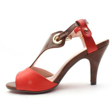 KATE APPLEBY CLUN STRAPPY SANDAL - CORAL