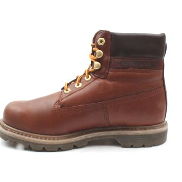CATS COLORADO LUX LACED BOOT - BROWN LEATHER