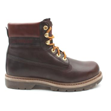 CATS COLORADO LUX LACED BOOT - MAHOGANY