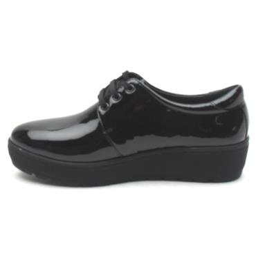 SOFTMODE CONNIE LACED SHOE - Black