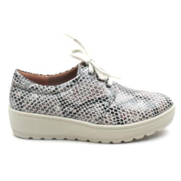 SOFTMODE CONNIE LACED SHOE - TAUPE