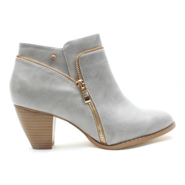 KATE APPLEBY CONWY ANKLE BOOT - GREY