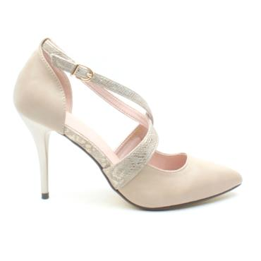 KATE APPLEBY CUSHENDUN POINT SHOE - GOLD