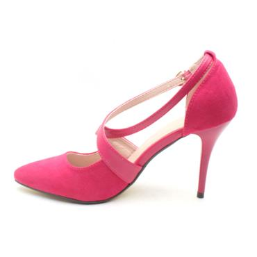 KATE APPLEBY CUSHENDUN POINT SHOE - Pink Suede