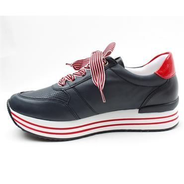 REMONTE D1305 LACED SHOE - NAVY