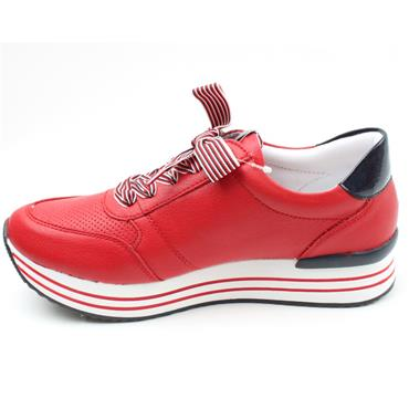 REMONTE D1305 LACED SHOE - RED