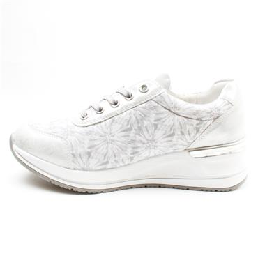 REMONTE D3203 LACED SHOE - ICE