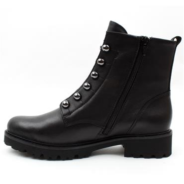 REMONTE D8670 LACED BOOT - Black