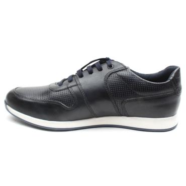 BASE LONDON DAKOTA LACED SHOE - NAVY